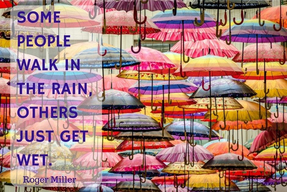 Umbrellas at Dubai mall