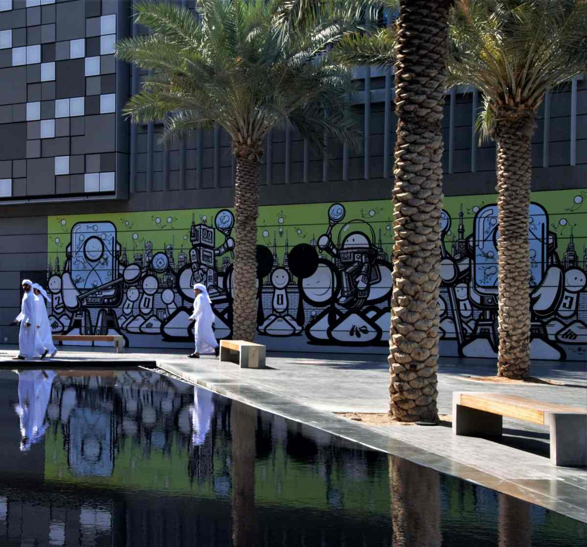 Dubai City Walk Street Art
