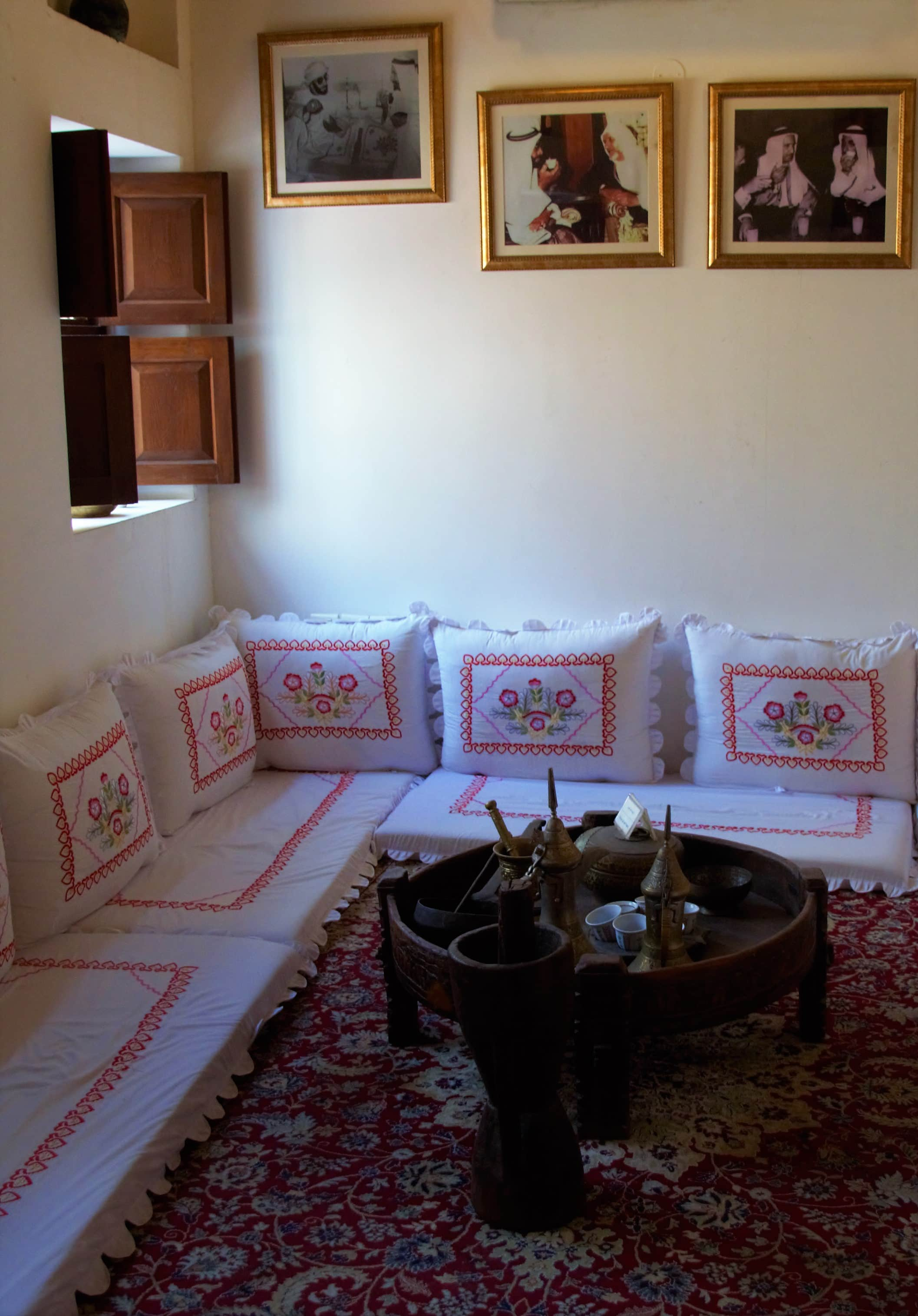 A traditional Arabian coffee service