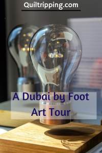 Exploring the Alserkal art scene on the Dubai by Foot Art Tour #dubai #dubaiart  #dubaibyfoot