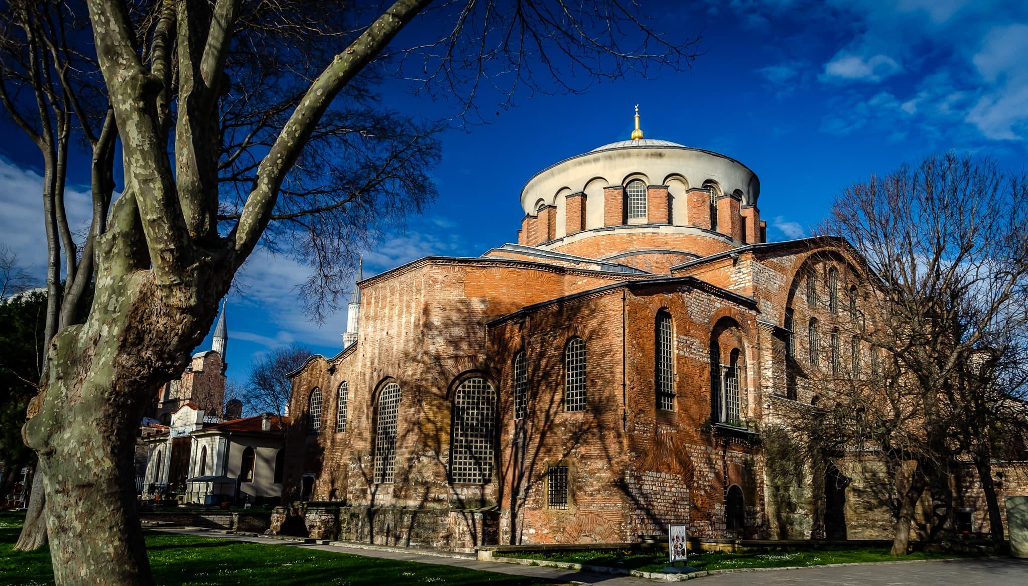 Istanbul's Hagia Irene