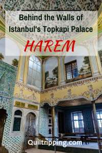 The beautiful Istanbul's Topkapi Palace harem is one of the top sights to visit #istanbul #topkapipalace #harem