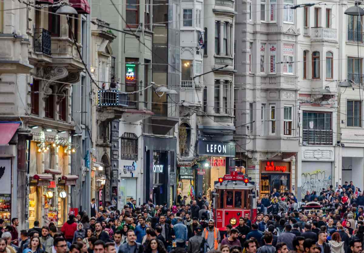 Sunday Afternoon on Istiklal Avenue