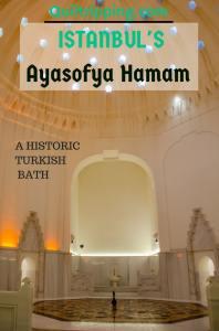 Release your inhibitions as you experience a real Turkish bath at the historic Ayasofya Hamam #istanbul #ayasofyahamam #turkishbath