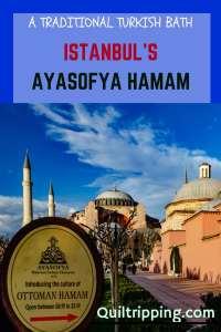 The historic Ayasofya Hamam is a great place to experience a real Turkish bath #istanbul #ayasofyahamam #turkishbath