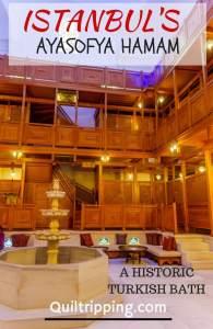 Experience a real Turkish bath at the historic Ayasofya Hamam #istanbul #ayasofyahamam #turkishbath