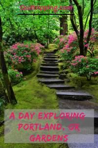Portland, OR has many beautiful gardens to explore #portland #ooregon #gardens