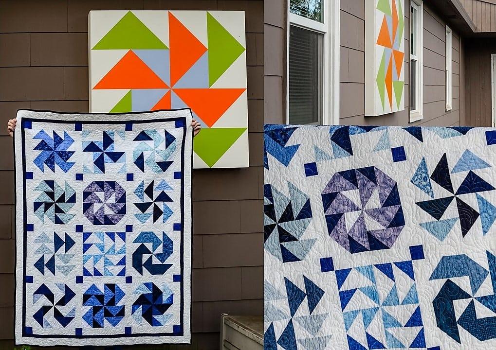 Quilt Design – Dutchman's Puzzle Quilt Variations