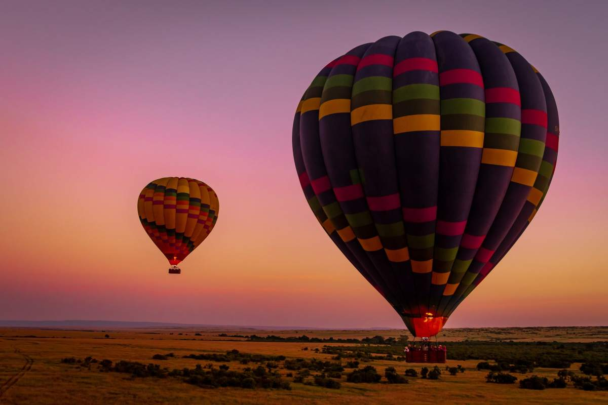 This is Africa: A Hot Air Balloon Safari in the Masai Mara