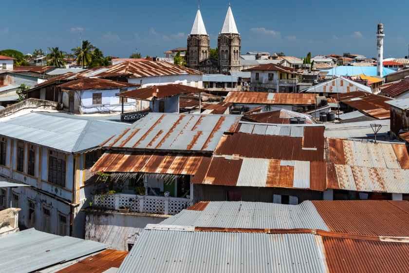 Rooftop view of Stone Town, Zanzibar
