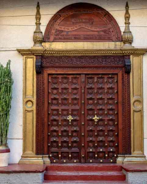 Bohara Mosque door
