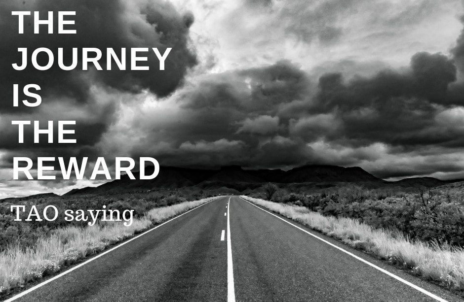 The journey is the reward