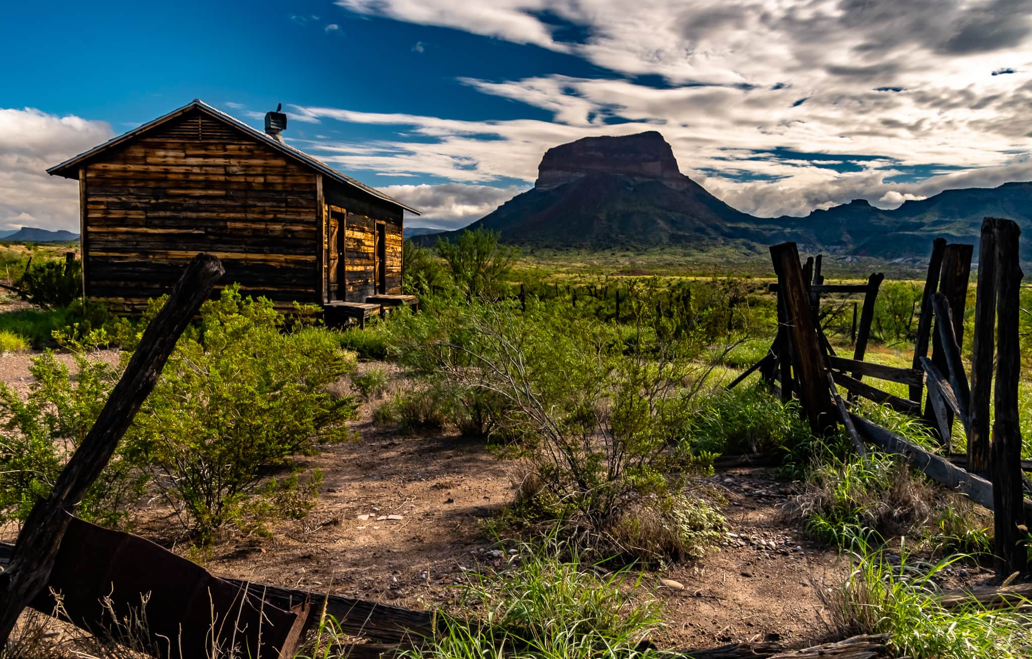 The Castolon Historic District in Big Bend national Park