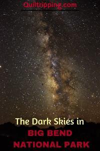 dark skies in Big Bend #bigbend #texas #darkskies #milkywat