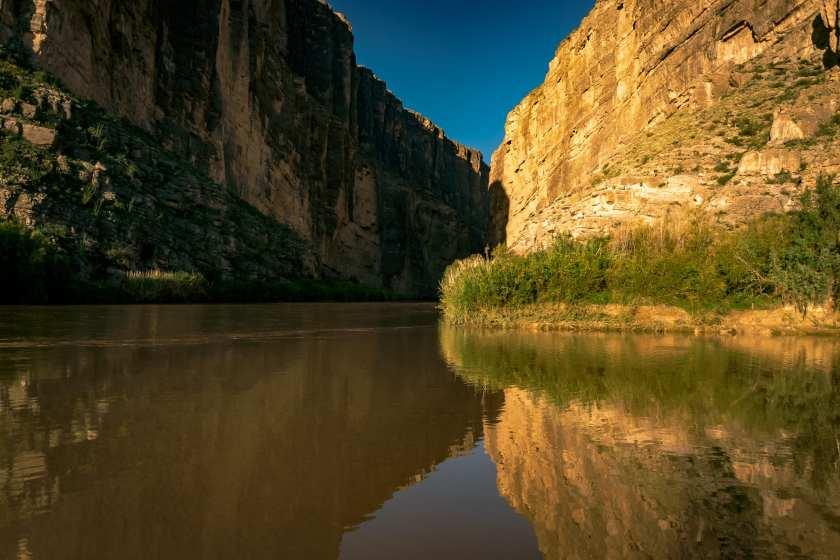 Early morning in Santa Elena Canyon