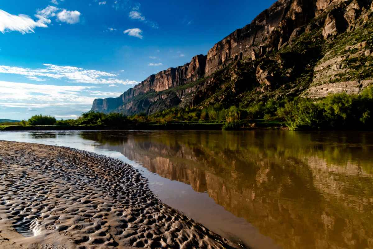 PhotoPOSTcard: Rio Grande Reflection