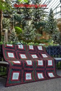 My Merry Christmas Quilt #christmasquilt #quilt #redandgreenquilt