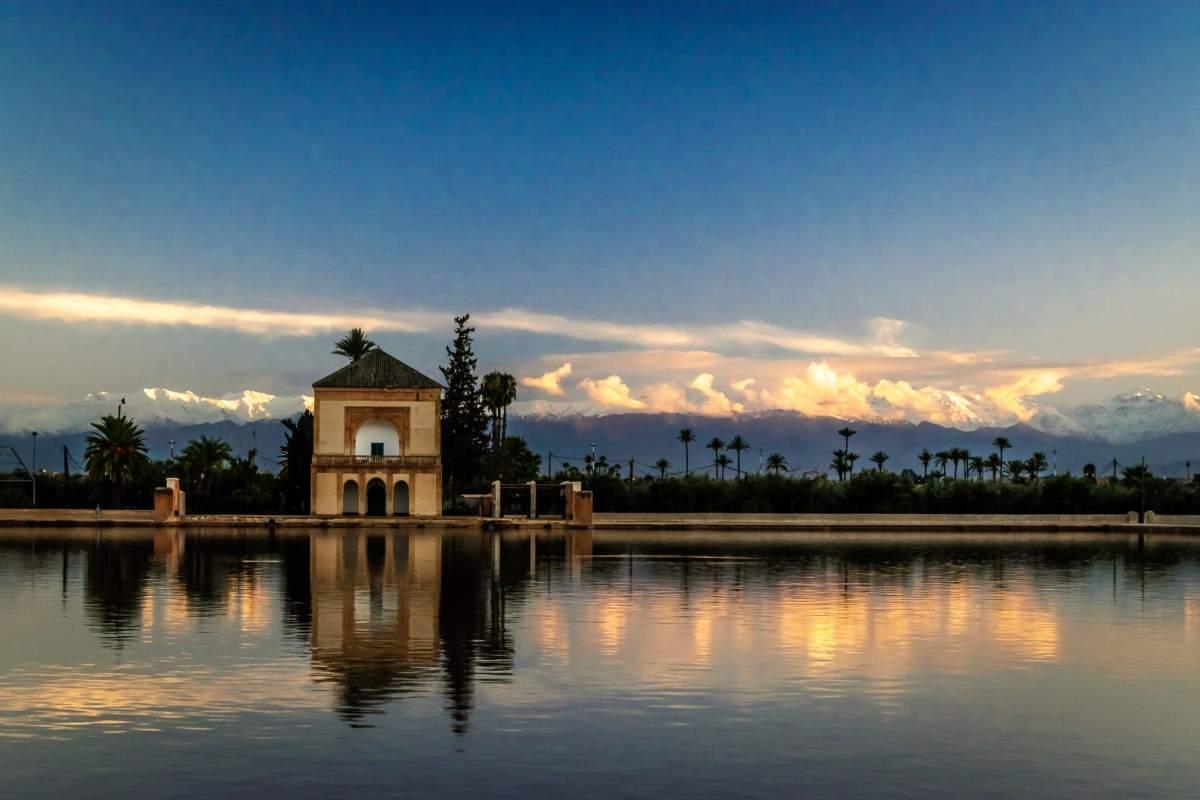 PhotoPOSTcard: Menara Gardens, Marrakesh