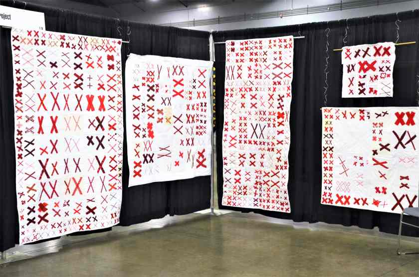 project 70273 quilts on display