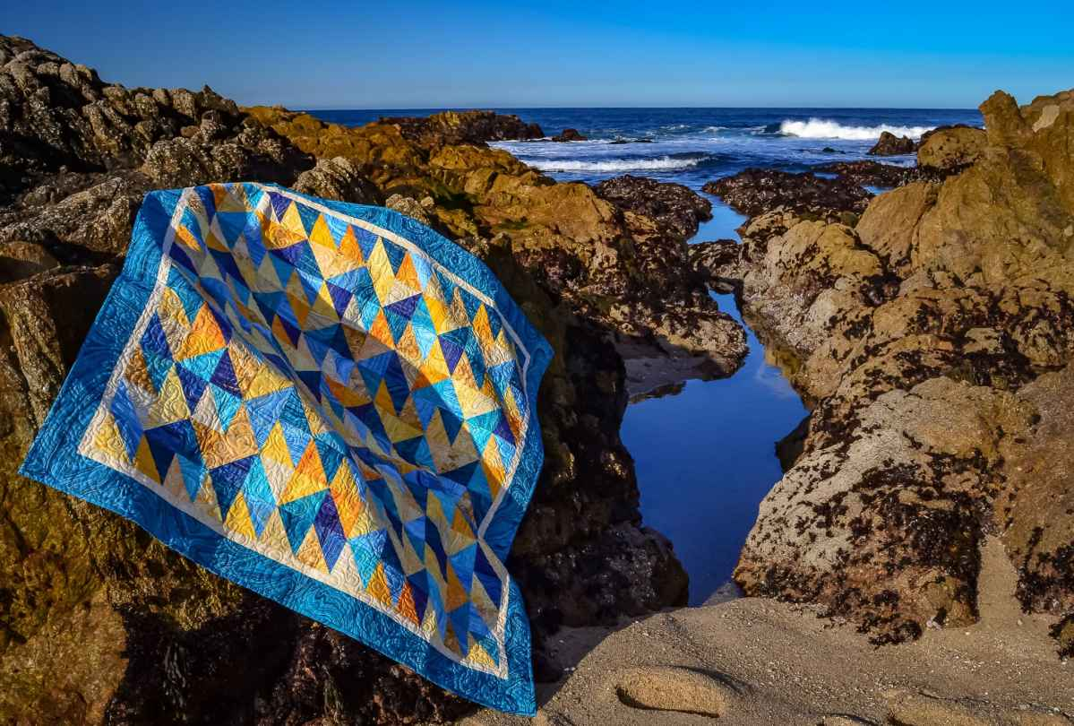 """California Dreamin"" – Original Quilt Design"
