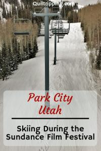 Find out about our experiences skiing during the Sundance Film Festival in Park City to be very uncrowded #parkcity #utahskiing #skiing #utah