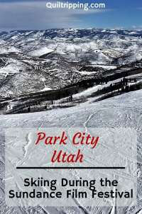 We found skiing during the Sundance Film Festival in Park City to be very uncrowded #parkcity #utahskiing #skiing #utah