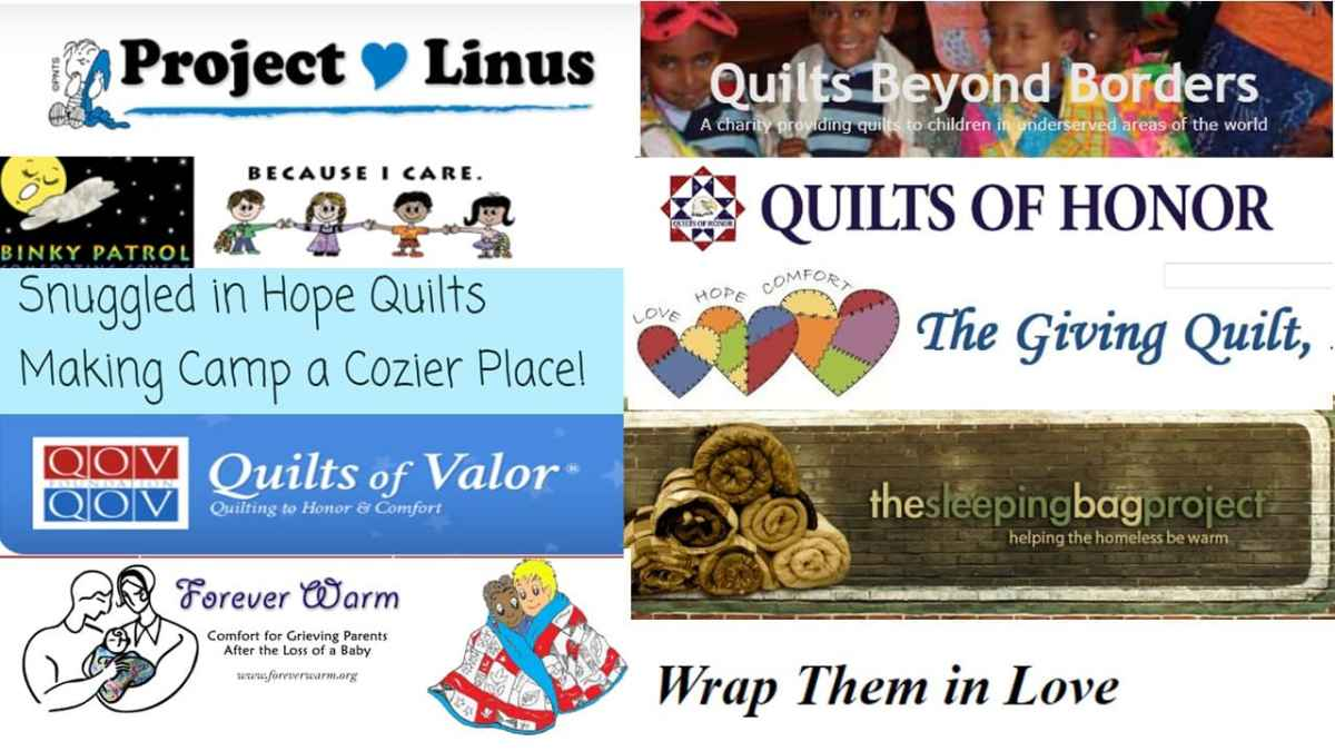 Be a Quilt Volunteer - A List of Places to Donate Quilts