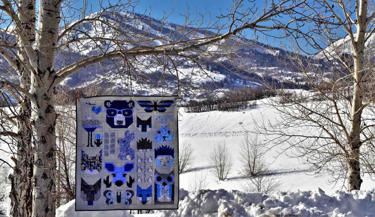 Rowan's Forest Friends Quilt – An Elizabeth Hartrman Quilt Design