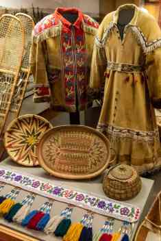Native dress exhibit
