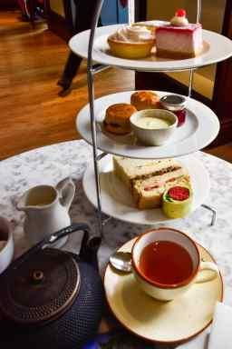 afternoon tea at The Botanical restaurant