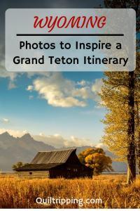 Let these 25 photos to inspire your next Grand Teton National Park itinerary #grandteton #tetons