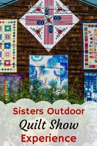 See the best quilts at the Sisters Outdoor Quilt Show #sistersoutdoorquiltshow #quiltshow