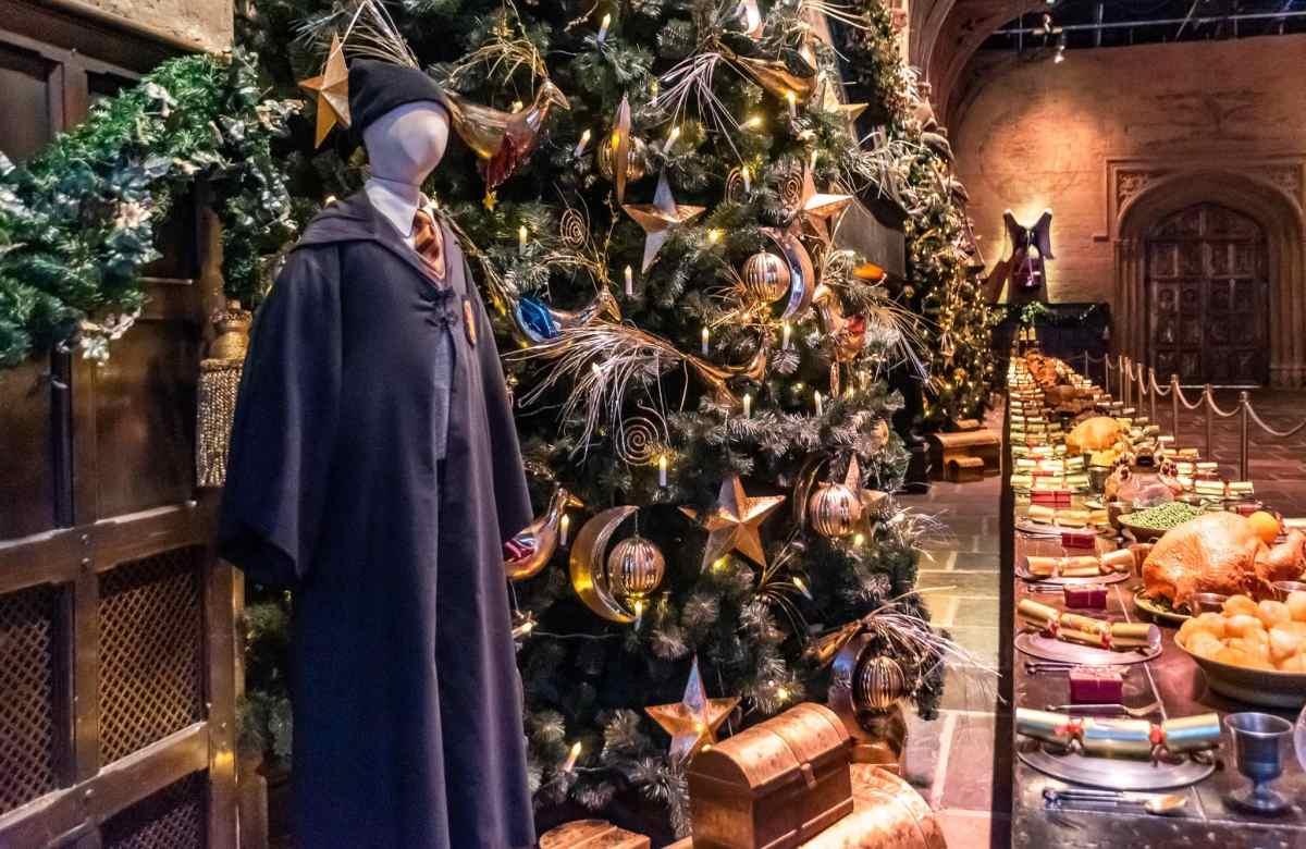 Great Hall at Hogwarts at Warner Brothers Studio in London