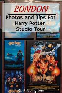 Photos and tips for visiting the Wizarding World of Harry Potter at the Warner Brothers Studios in London #london #warnerbrothersstudiolondon #harrypotter