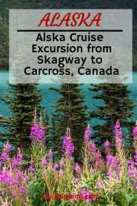 How to do a Skagway cruise excursion to Carcross, Yukon #alaska #skagway #carcross #yukon