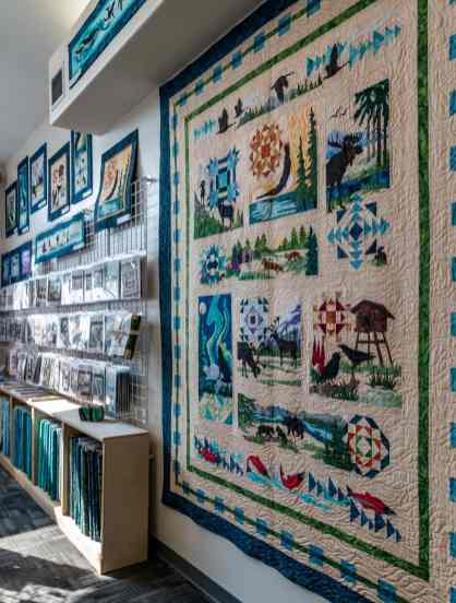 Northern Threads quilt shop in Fairbanks