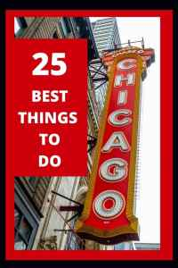 My favorite 25 things to do in my favorite city of chicago