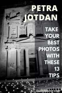 Sharing my tips for taking the best photos in Petra Jordan on your bucket list trip