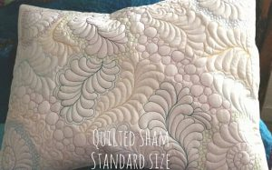 Custom Quilted Pillow Shams