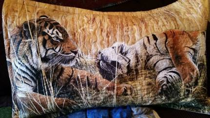 Tiger Piloow Sham, Body size Pillow Sham