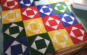 Primary Colors, Handmade Quilt