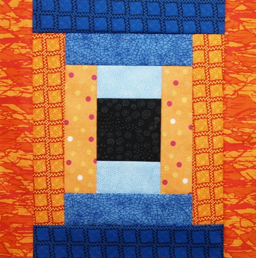 How To Make Courthouse Steps Log Cabin Quilt Block