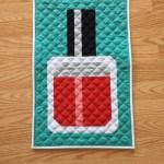 Nail Polish Mini Quilt