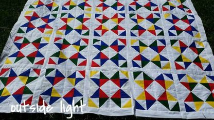 Handmade King Quilt