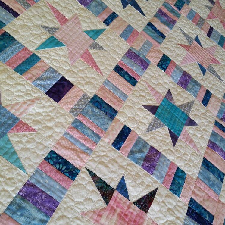 Uneven Star Quilt Made To Order