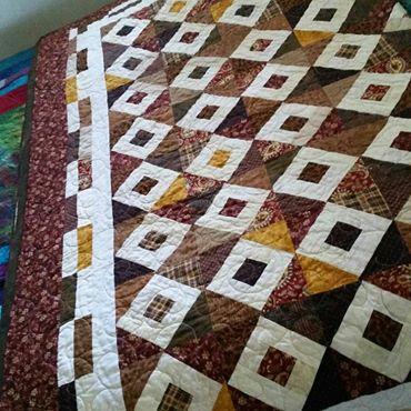 Handmade Queen Quilt for Sale