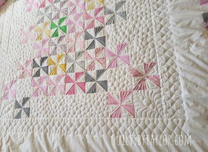 pinwheel quilt, quilt for sale