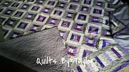 Purple Quilts for Sale