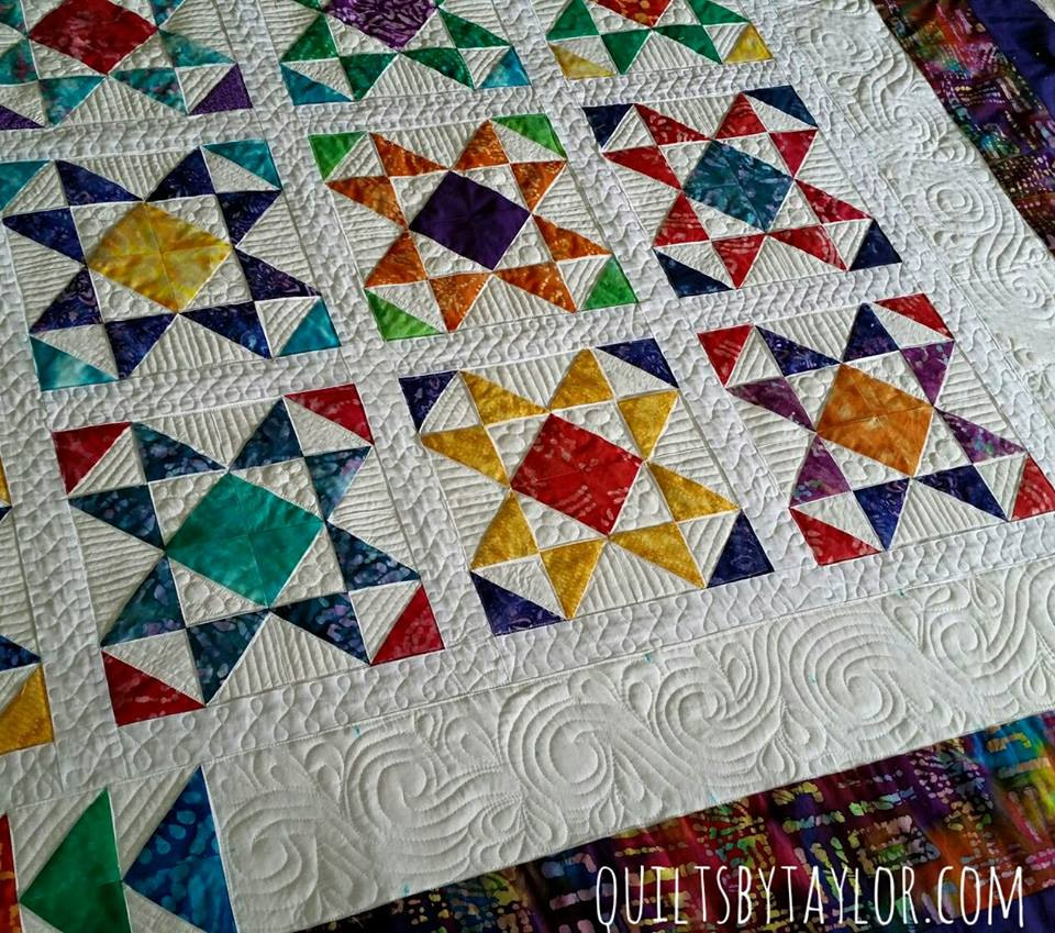 Homemade Quilts For Sale >> 16 Stars Quilt For Sale Finished Quilt 80 X 83