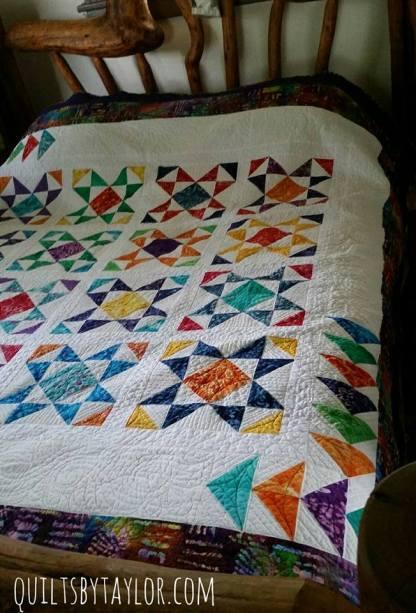 modern quilt on sale